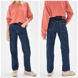 Aritzia Denim Forum NWT Joni HR Loose Jeans, 25